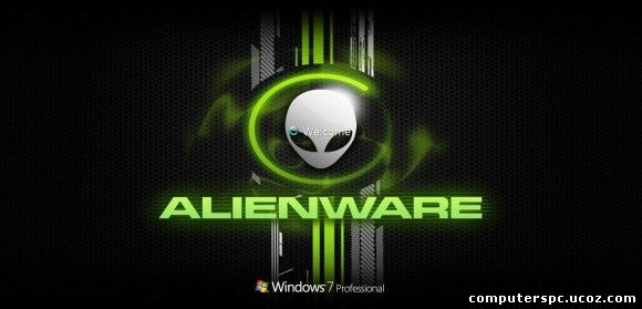 alienware logon screen